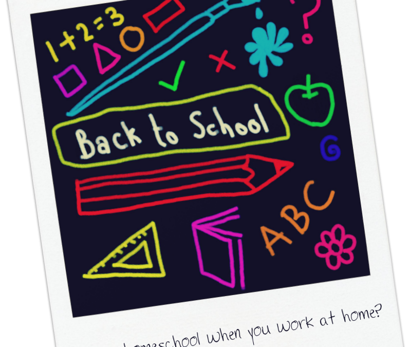 Can you homeschool when you work from home?