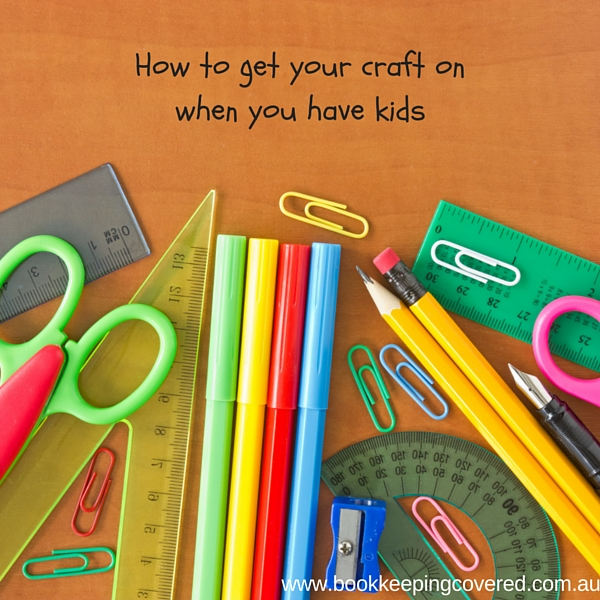 How to work with kids in the house