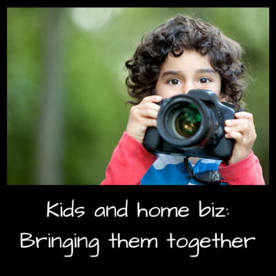 Kids and home biz: Bringing them together