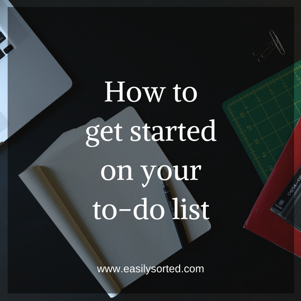 How to get started on your to-do list