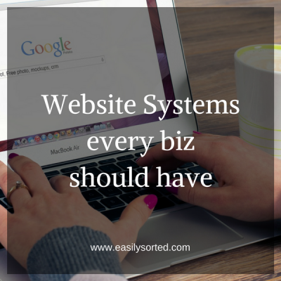 Website Systems every biz should have