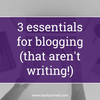 Blogging: what you need BEFORE you start writing
