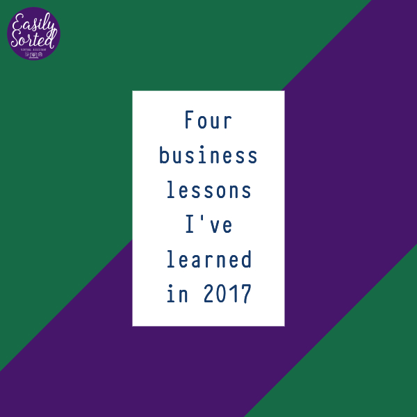 4 business lessons I've learned in 2017